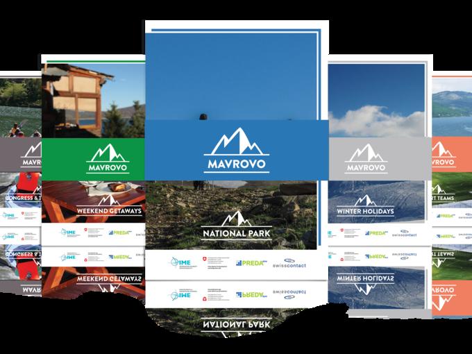 Brochure for promotion of National Park Mavrovo - National Park Mavrovo